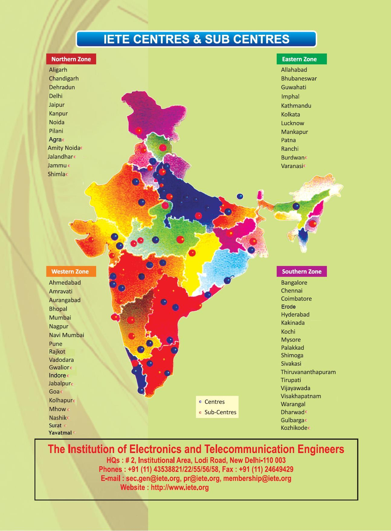 Iete the institution of electronics and telecommunication engineers as equivalent to m tech in computer science for the appointment to superior posts services under the central government read more about iete yelopaper Choice Image